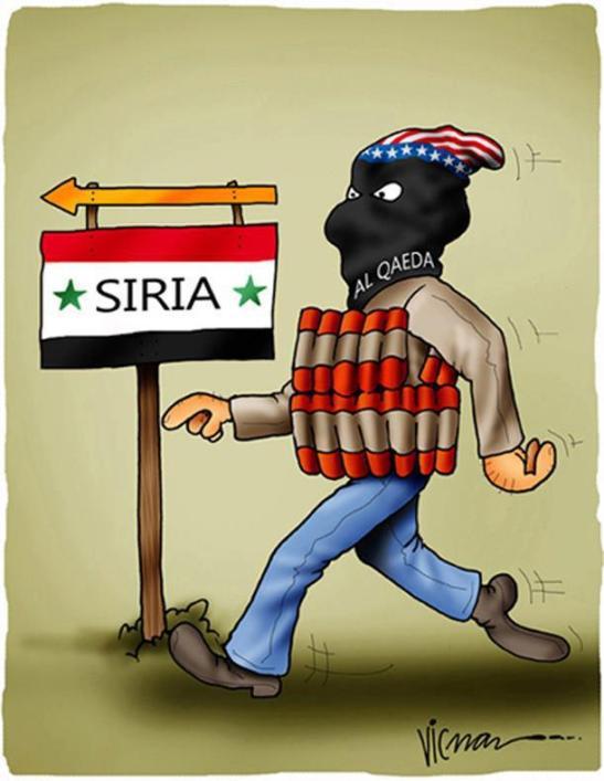 siria sufre terrorismo de ee.uu